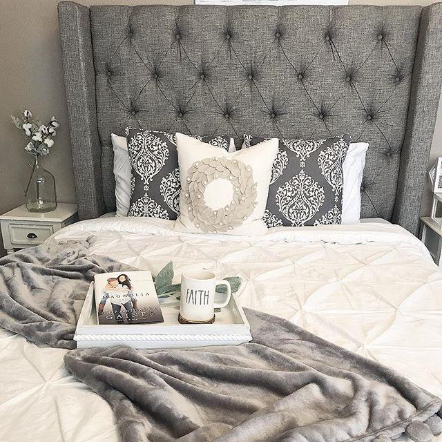 Best Sorinella Queen Upholstered Bed Gray Home Decor Bedroom 400 x 300
