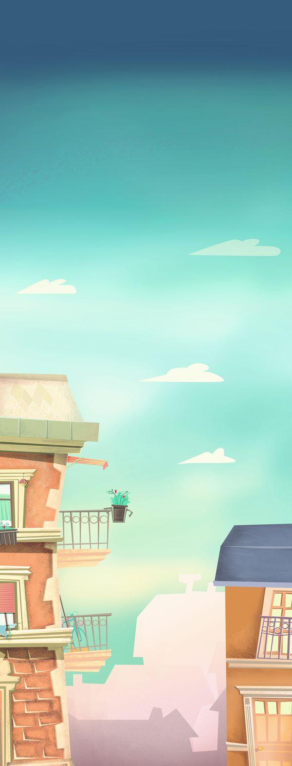 Loti & Futi - episode   by Sofia Laszlovszky, via Behance