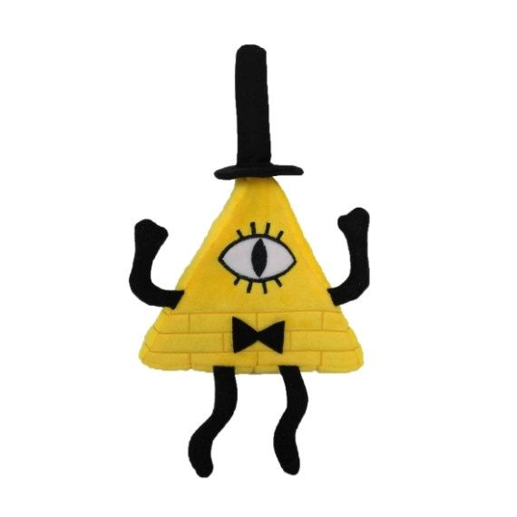 Bill Cipher Plush by TheMysteryShack on Etsy