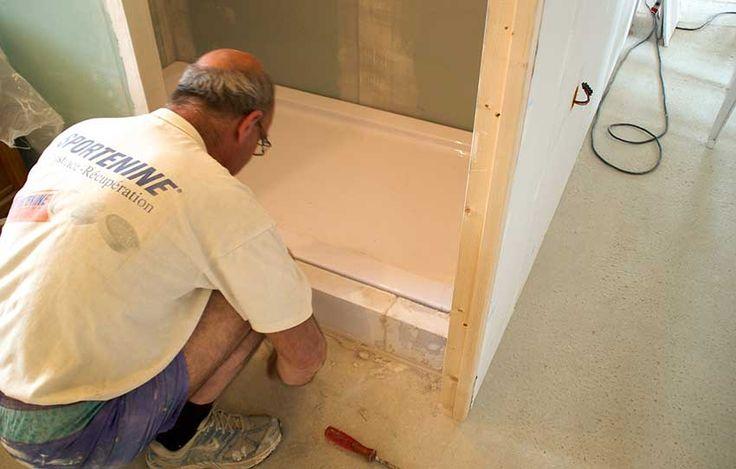 17 meilleures id es propos de receveur douche sur pinterest receveur de douche receveur. Black Bedroom Furniture Sets. Home Design Ideas