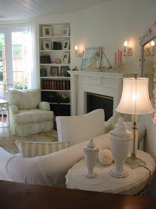82 best shabby living room images on pinterest living room chic living room and homes for Shabby chic modern living room ideas