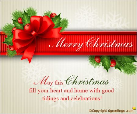 These Christmas messages will surely make you loved ones' occasion a splendid one.