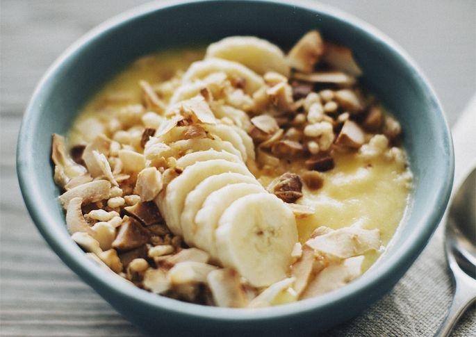 Bowl + Spoon Recipe: Tropical Smoothie Bowl - Q by Equinox