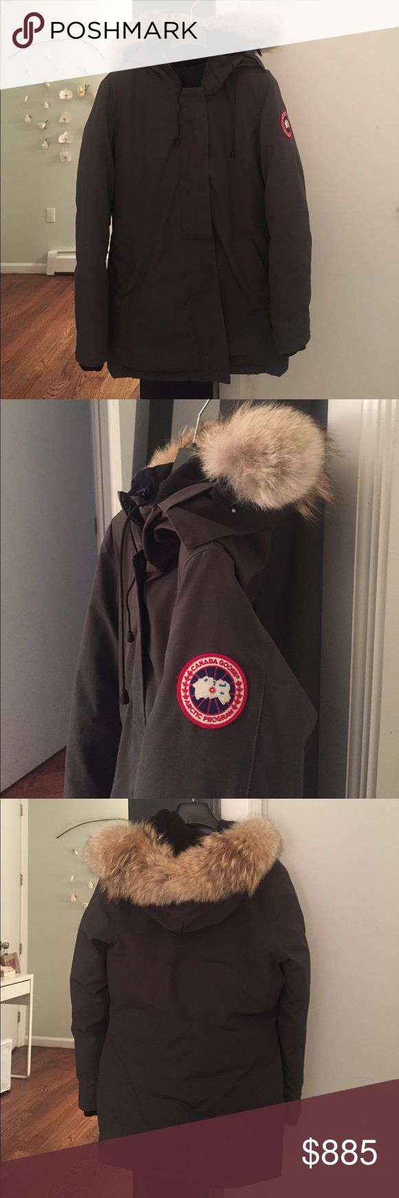 Canada Goose Victoria Parka Canada Goose Victoria Parka. Gently pre-loved for one season. Excellent condition, exceptionally warm and beautiful quality. (Only selling because I'm going to get a black one instead).  Please comment with any questions.  I am planning on posting elsewhere as well.  Price is for you to save on sales tax (which is about $80 at 8.875 NYC tax rate). Posh will authenticate. Purchased at Bloomingdales NYC. They're saying it's going to be a VERY cold winter - prepare…