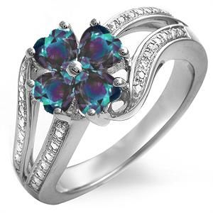 Alexandrite is such a pretty stone, I'm glad it's my birthstone (or one of the three at least.)