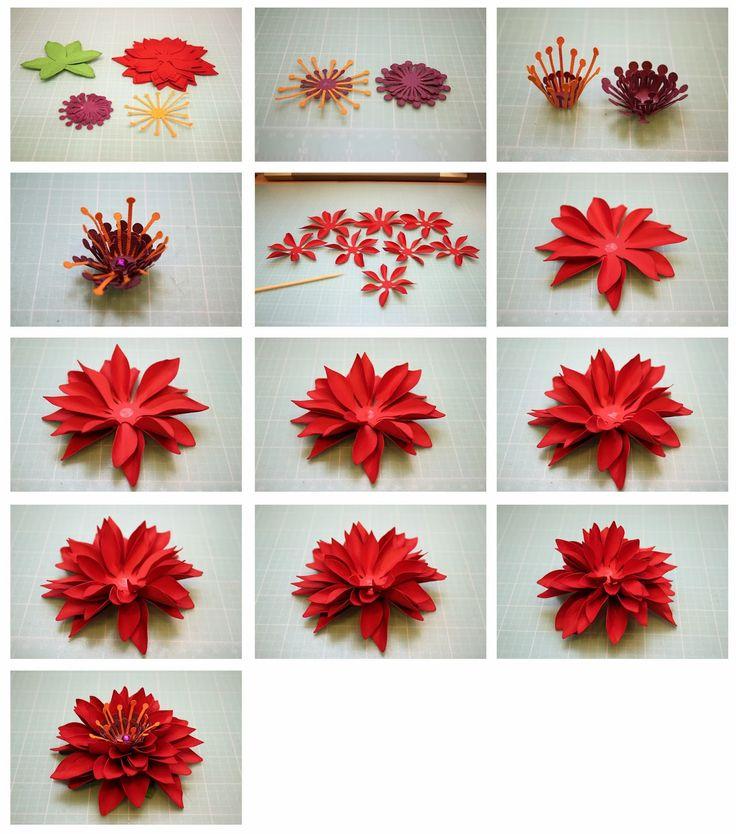 Mum 3D Paper Flowers!