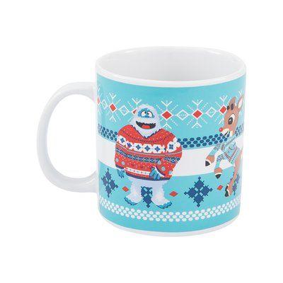 Vandor Rudolph & Bumble Ugly Sweater Ceramic Coffee Mug