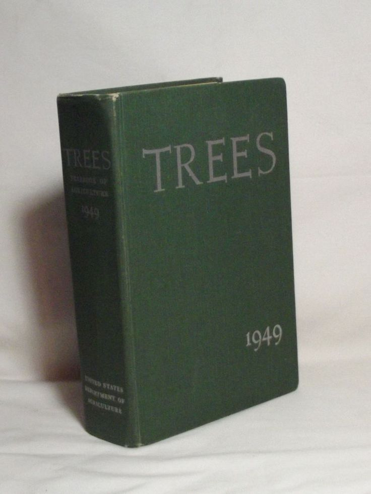 """VINTAGE """"TREES"""" THE USDA 1949 YEARBOOK OF AGRICULTURE BOOK"""