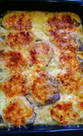 Liptovské rezne zapekané bravčové karé