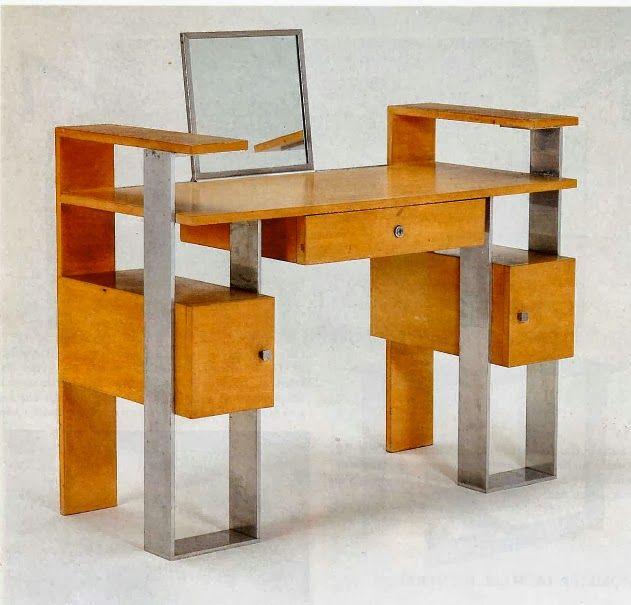 Villa Cavrois De Rob Mallet Stevens: Dressing Table Desk
