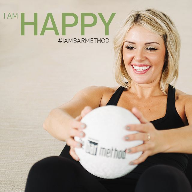 """""""I wake up with purpose, I have a disciplined morning and after the class I am full of happy energy!"""" #IAMBARMETHOD"""