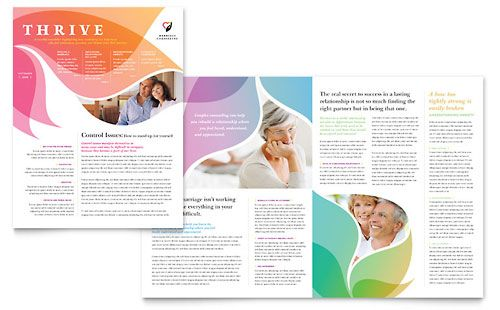 View an entire library of editable InDesign Newsletter templates ...