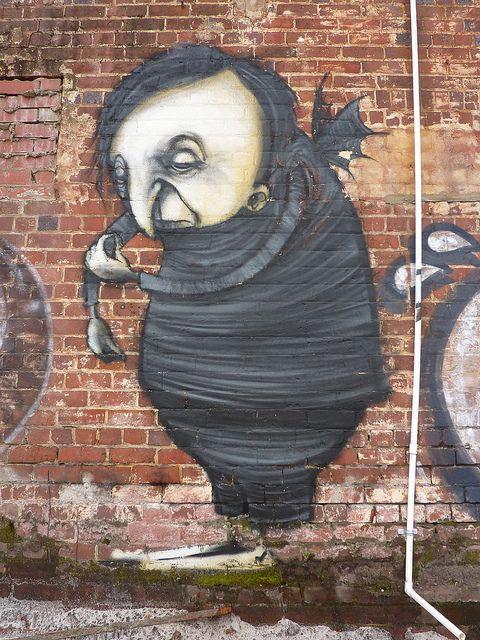Stormie Mills graffiti/street art - Perth, 2011