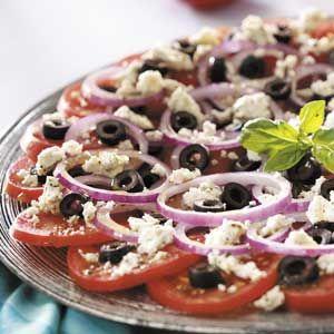 Greek Feta Salad Recipe