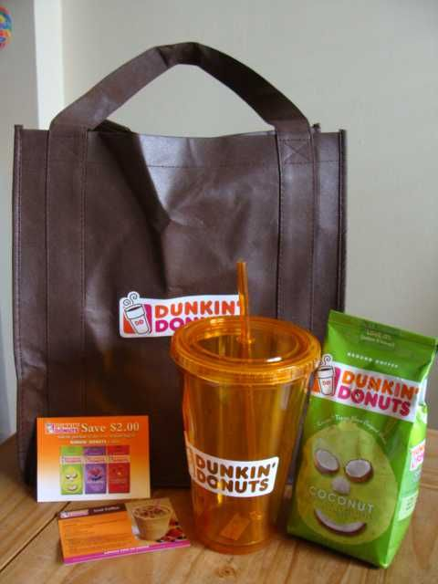 Dunkin' donuts prize pack giveaway, ends 5/11