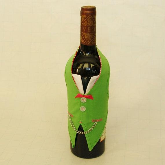 wine bottle vest