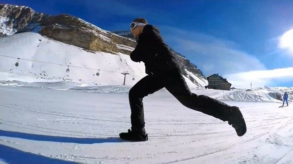 Shred the slopes with these easily attachable ski shoes