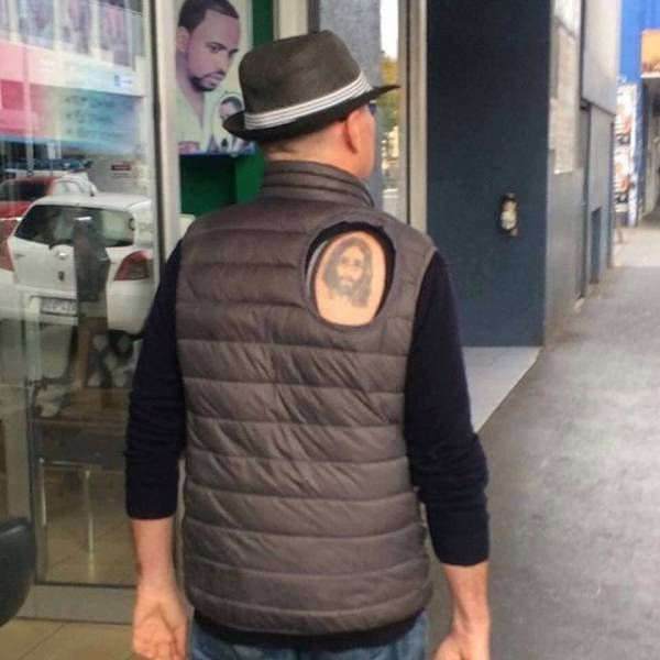 Holy tattoo.