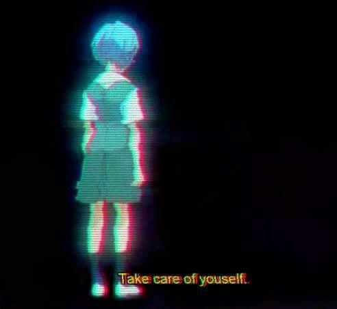 anime, quotes, aesthetic, indie, grunge, dark, girl, pastel, neon genesis evangelion