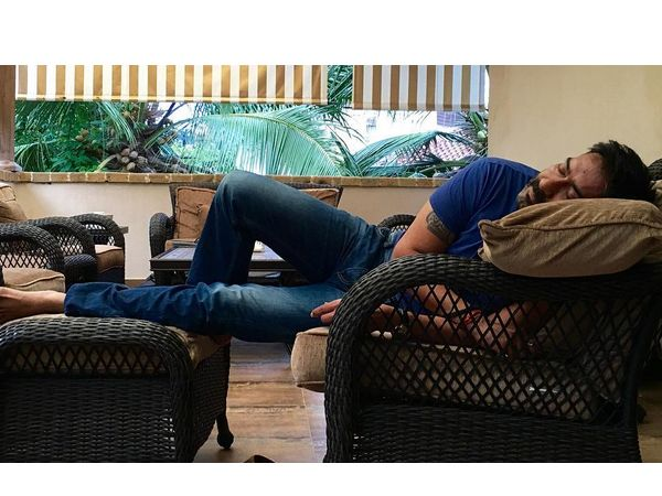 This is the cutest picture of Ajay Devgn we have ever seen