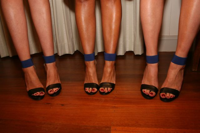 One can never forget the shoes girls, its all about the shoes. Quirky bridesmaid shot, why not I say!