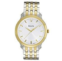 Bulova Men's 98A121 Classic two tone round Watch