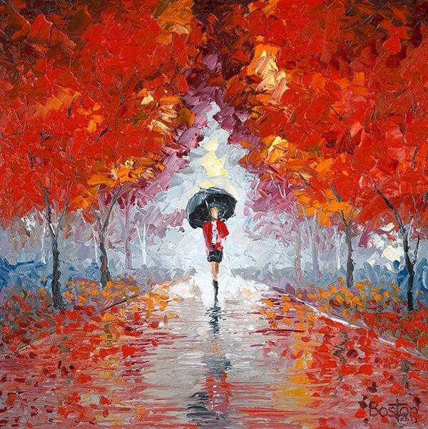 25 best ideas about oil painting for beginners on for Fall paintings easy