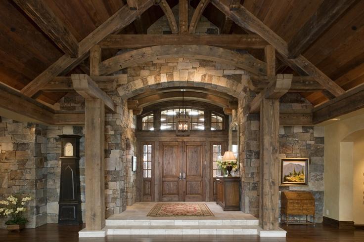 17 Best Images About Log Cabin Doors On Pinterest
