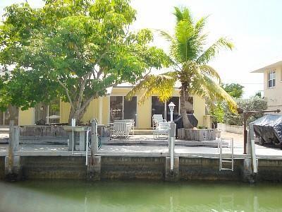 Canal front ocean access Marathon Florida rental