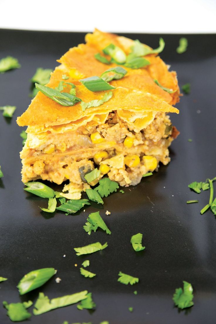 Oil-Free Tortilla Pie [Vegan] #vegsage #vegan #recipe #instafood  http://www.onegreenplanet.org/vegan-food/oil-free-tortilla-pie/?utm_campaign=crowdfire&utm_content=crowdfire&utm_medium=social&utm_source=pinterest