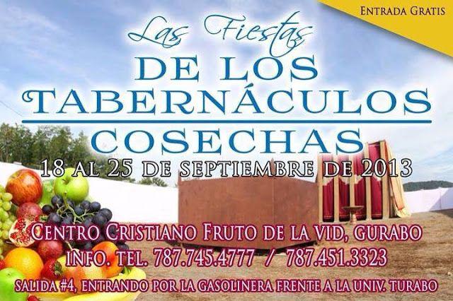 CELEBRAN LAS FIESTAS DE LOS TABERNÁCULOS | BuenasNuevasPR