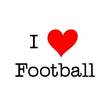 Football is a Friday,Saturday, Sunday, Monday, and sometimes Thursday thing for me DEAL WITH IT! lol