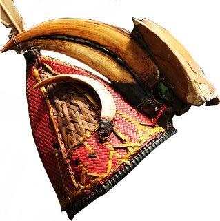 Traditional Naga head gear