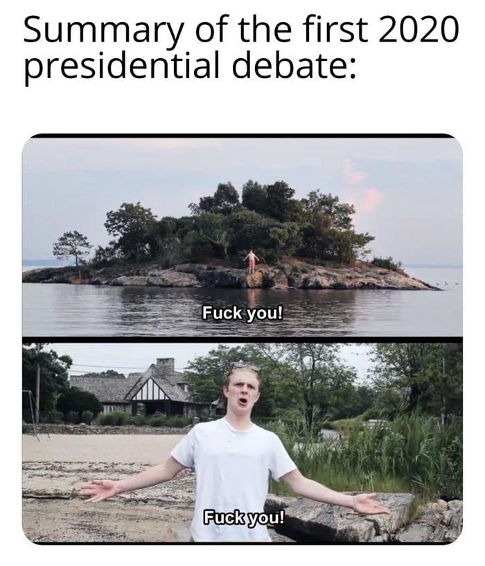 Summary Of 1 2020 Debate Debate Memes Memes Laughed Until We Cried