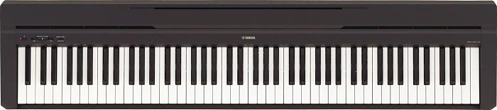 El+modelo+portatil+P-45+de+Yamaha+brinda+teclas+de+peso+completo+y+sigue+siendo+lijero.    Piano+ideal+para+estudiant…