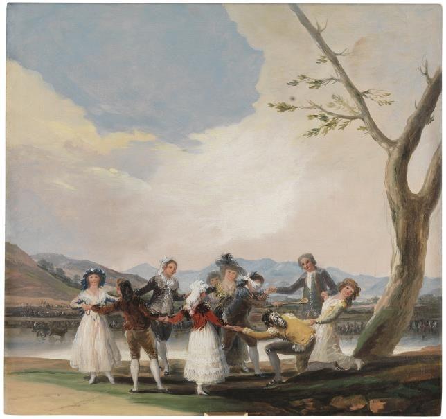 """""""La gallina ciega"""" (1788)    Francisco de Goya y Lucientes   Colección - Museo Nacional del Prado https://www.youtube.com/watch?v=apQrmOGU7A0"""