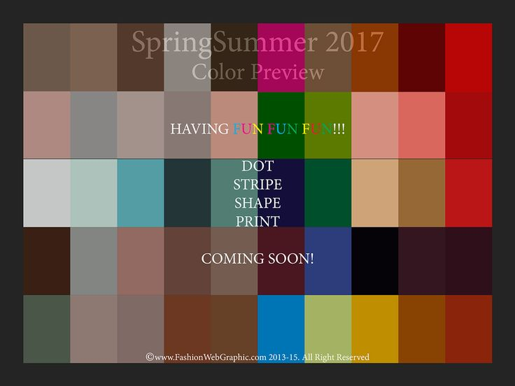 17 Best Images About Trend Ss2017 Fashion Colors Summer
