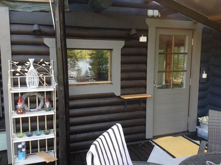 Kuhmoisten uusi sauna 2015.