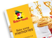 Fall Recipe Booklet 2013- Find yummy recipes in the latest Robin Hood Recipe Booklet