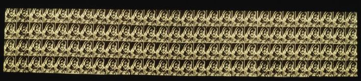 The Last Supper (Christ's Head 112 Times), 1986 by Andy Warhol