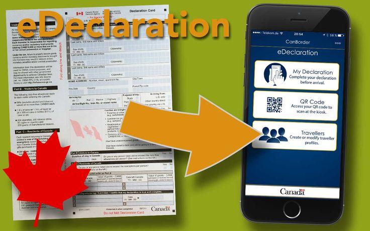 Kanada ermöglicht die Zollerklärung bei der Einreise per praktischer App. Wir zeigen euch die einzelnen Schritte und die Links zum Download der App.