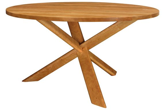 Junction Table - inspired by the Japanese wood puzzle The Devil's Knot ...