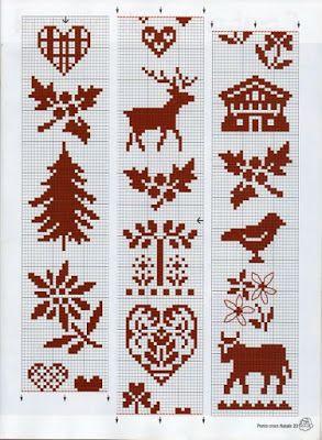 """Милые сердцу штучки: Вышивка крестом: """"Приятные новогодние мелочи (продолжение)"""""""