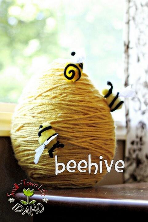 Paper mache' bee hive pinata