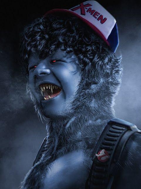 Los chicos de Stranger Things son vistos como personajes de X-Men a través del arte de BossLogic