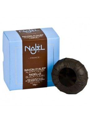 Sapun de Alep Najel Collection cu chimion negru -100g