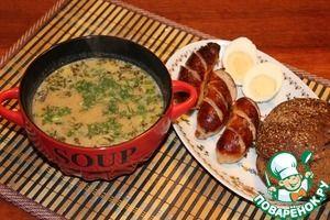 Традиционный польский суп Журек