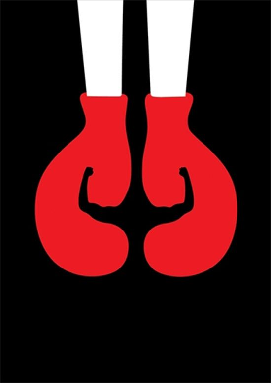 Cut It Out by Noma Bar, a series of graphics with double meaning