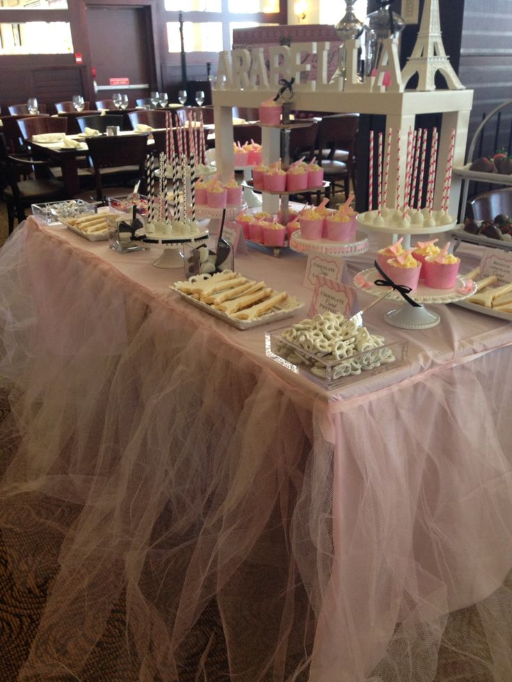 Paris candy bar -cupcakes and cakepops