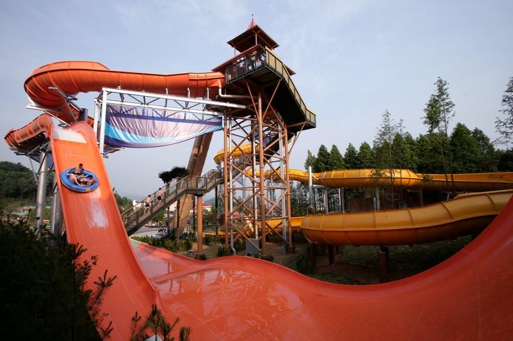 캐리비안 베이 타워 부메랑고 (Caribbean Bay 'Tower Boomerang Go')